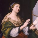 St. Cecilia painting
