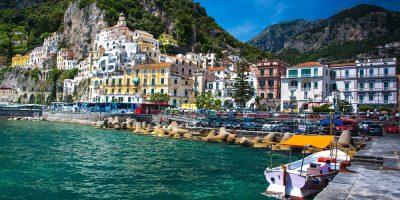 Positano, Italy waterfront