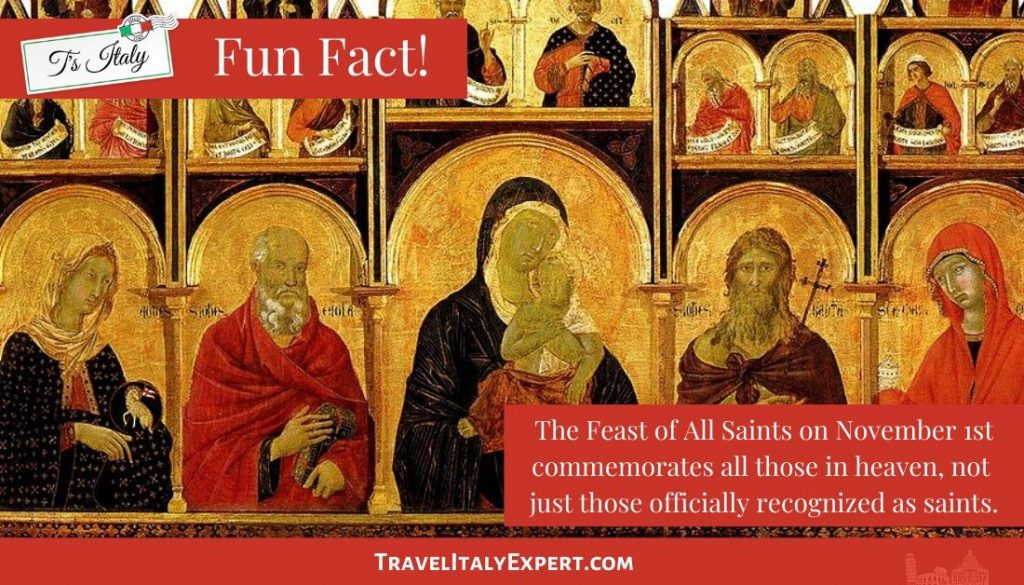 Feast of All Saints Fun Fact