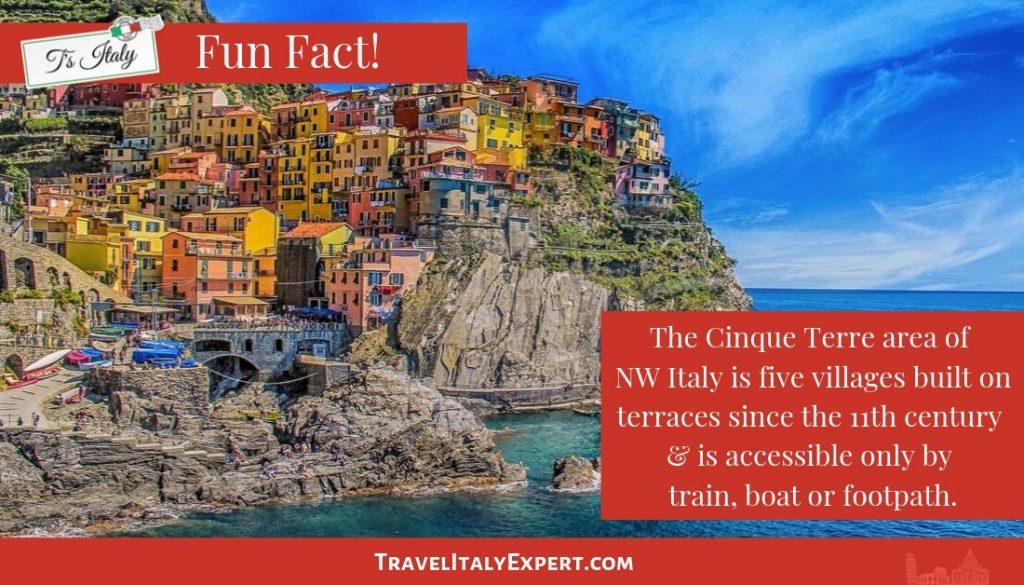 Cinque Terre Fun Fact
