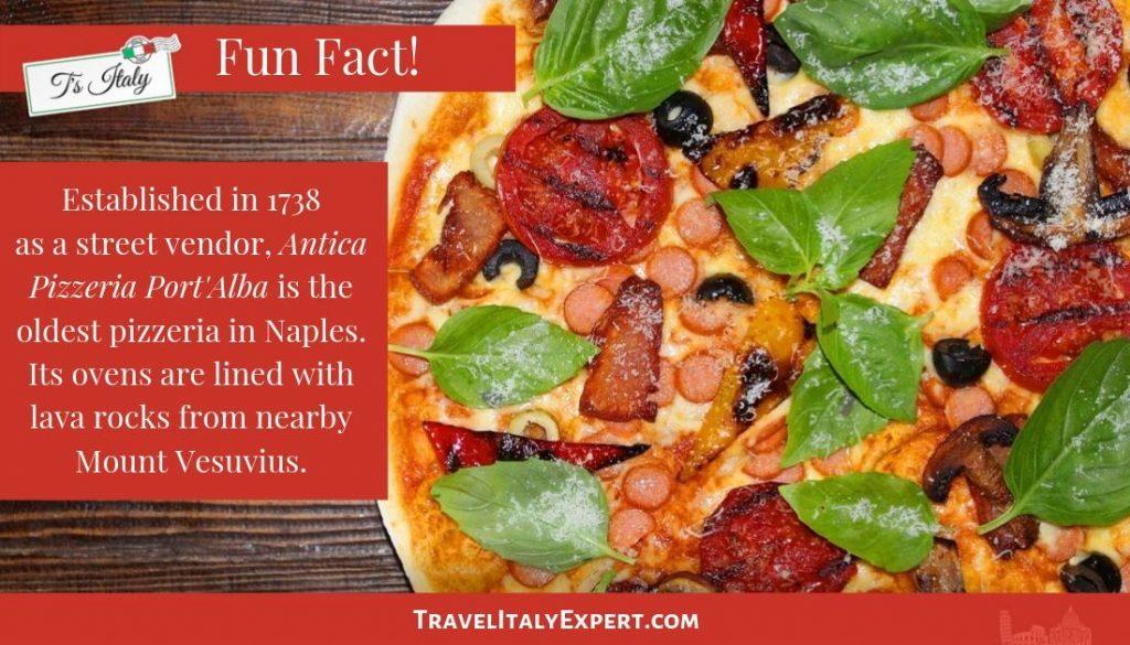 Naples Pizza Fun Fact