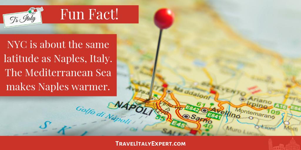 Naples, Italy Fun Fact