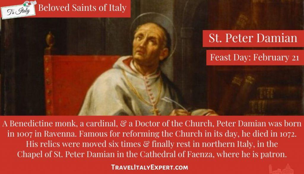 St. Peter Damian Fact