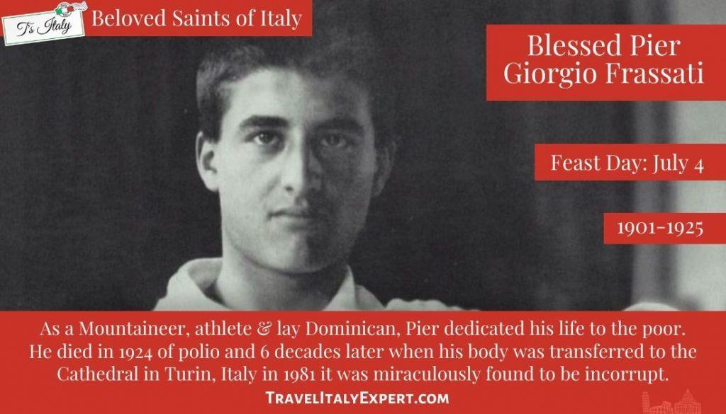 Bl Pier Giorgio Frassati Facts