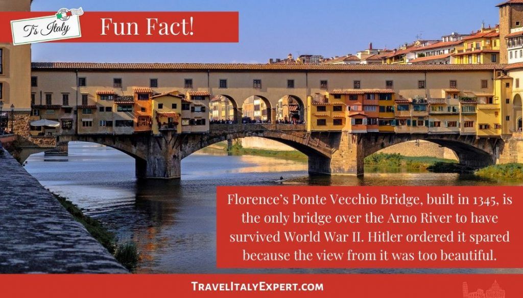 Florence's Ponte Vecchio Bridge Fun Fact