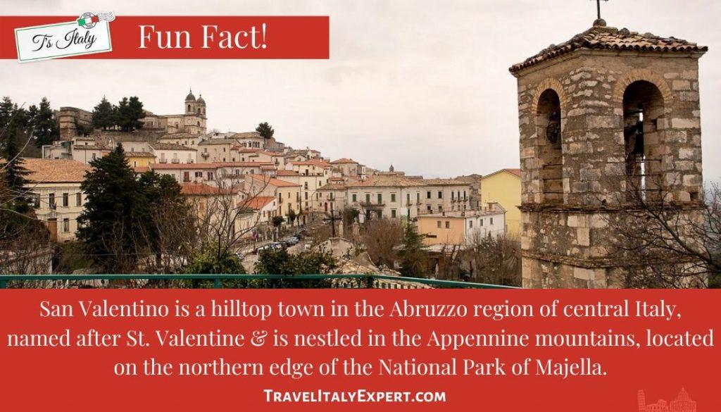 Fun Fact on San Valentino in Abruzzo