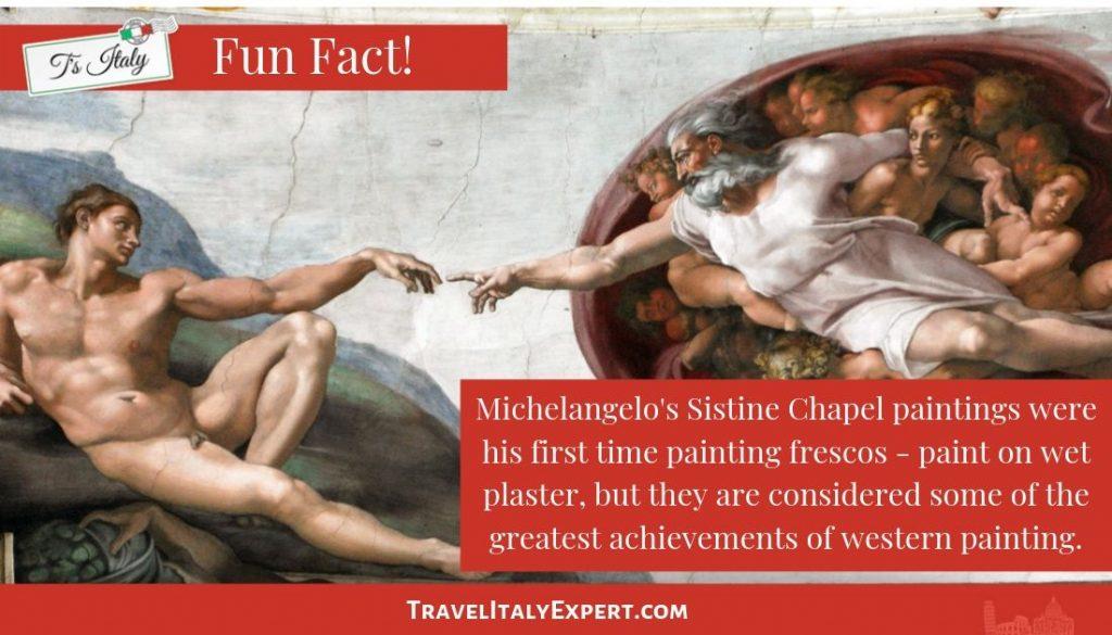 Sistine Chapel Fun Fact