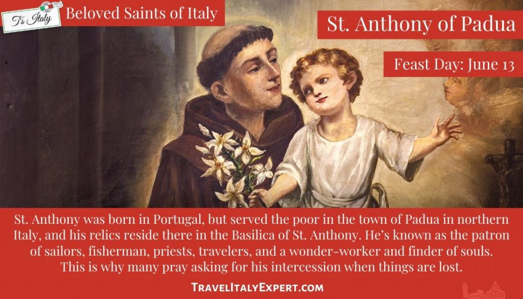 St. Anthony Facts