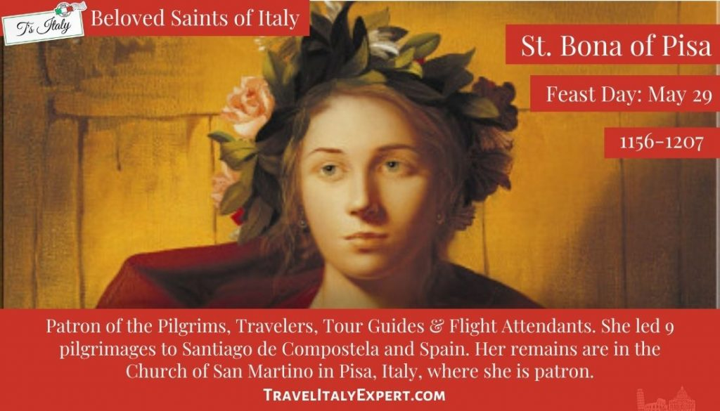 St. Bona of Pisa Facts