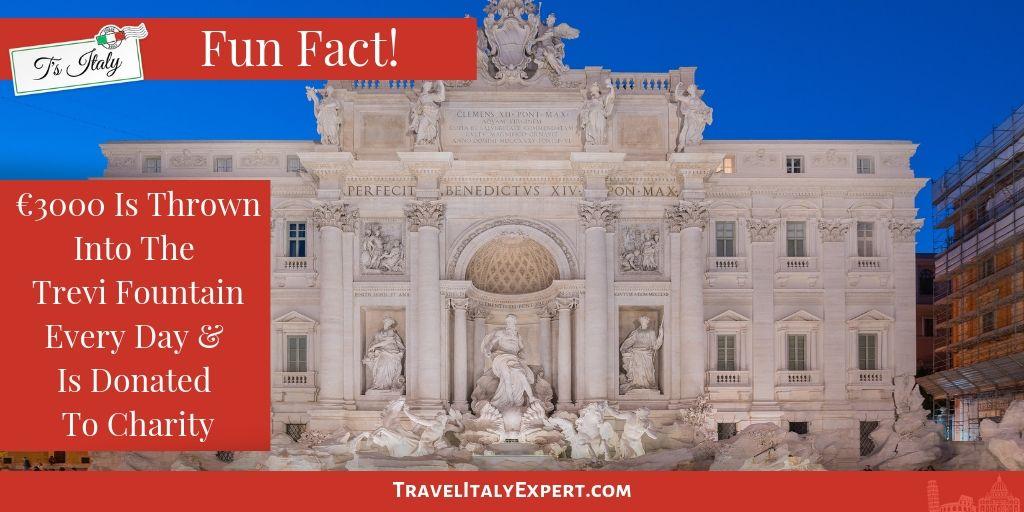 Trevi Fountain Fun Fact