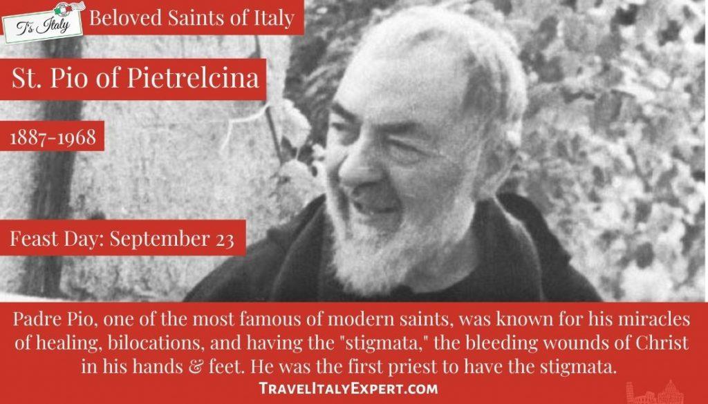 Padre Pio facts