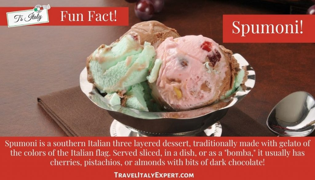 Facts about Spumoni