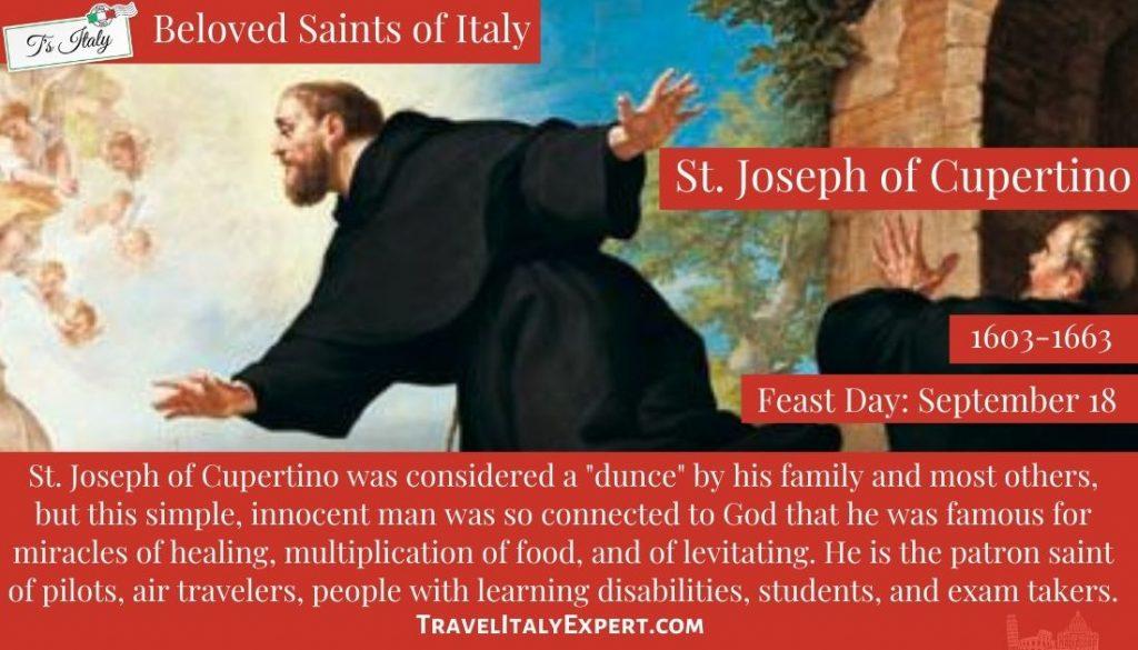 St. Joseph of Cupertino pin
